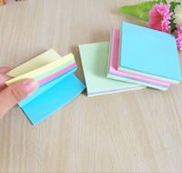 papel de papelaria venda por atacado-Escola Escritório Sticky Notes Memo Pad Marcador Papel Etiqueta Notepad Stationery