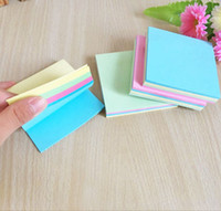 Wholesale radiation protection stickers for sale – best School Office Sticky Notes Memo Pad Bookmark Paper Sticker Notepad Stationery