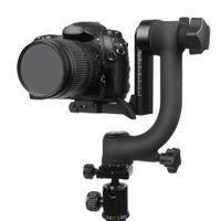 videocámara pentax al por mayor-Panorámica profesional 360 Grados Vertical Pro Gimbal Trípode Cabeza 1/4