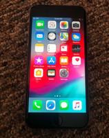 telefone iphone i6 venda por atacado-iPhone 6 Desbloqueado Celular 4.7 polegada 16 GB A8 IOS 12 4G FDD Suporte Impressão Digital i6 remodelado telefone inteligente DHL