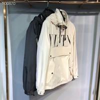 ingrosso giacca modello casual-Uomo primavera autunno cappotto sottile giacca, uomini e donne giacca sportiva giacca a vento esplosione modelli neri paio giacca windrunner