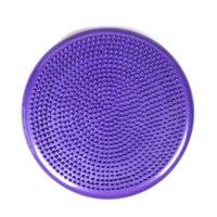 bola roja de masaje al por mayor-Nueva bola de equilibrio cojín de masaje de yoga almohadilla de equilibrio rueda suave fortalecer Azul Púrpura Rojo
