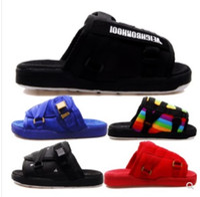 zapatos de hip hop para hombres al por mayor-Nueva marca Visvim Zapatillas Zapatos de moda Hombre y mujer Amantes Zapatos casuales Zapatillas Sandalias de playa Zapatillas al aire libre Hip-hop Street Sandals