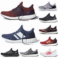 ultra-boost mens toptan satış-2019 Ultra Boost 3.0 4.0 Erkek Kadın Koşu Ayakkabıları CNY Üçlü Siyah Beyaz Oreo Altın Kırmızı Ultra Boost Tasarımcı Spor Koşu Sneakers