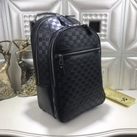 Wholesale backpack carry for sale - Group buy 2020 Top Quality Backpack Brand Designer Carry On Backpack Mens Fashion School Bags Luxury Travel Bag Black