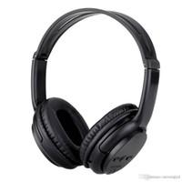 bluetooth kopfhörer stereo für laptop großhandel-Schwarz 5800 Bluetooth Stereo Wireless Headset Kopfhörer Kopfhörer TF-Kartensteckplatz für PC Computer Laptop Smartphone