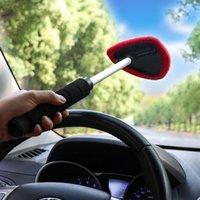 ingrosso lucentezza automatica-Auto parabrezza Cleaner Brush Towel Vehicle Parabrezza Shine Care Dust Remover Auto Home Window Detergente per vetri