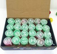 tambor de barril de petróleo venda por atacado-Truque Latex arco-íris de petróleo coloridas Barrel O Slime Joke pequeno Gag Prank Toy Presente louco Abastecimento Partido 24pcs Truque tambores de brinquedo engraçado