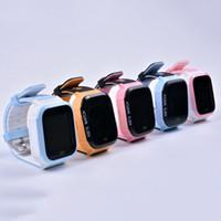 teléfono de seguridad para niños al por mayor-Relojes inteligentes lindos para niños Teléfono Y21 Seguridad LBS SOS Cámara Tarjeta SIM Niños Relojes Niños Regalo a prueba de agua para niños