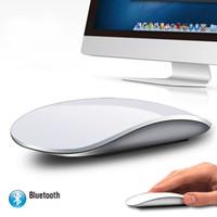 ingrosso bluetooth per il desktop-Magic Mouse 2 Bluetooth Wireless gioco Mouse Touch Wheel PC Moda ultra sottile per notebook per computer desktop MAC di stile 2.4g