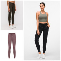 Wholesale yoga pants for women resale online - Quickly Dry Fitness Tight Muti Colors Slim Pocket Yoga Pants High Waist Legging Trousers Clothes For Women Apparel dq E19