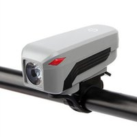 фонарь для велосипедов оптовых-USB Rechargeable Horn Multifunction Fashionable Safety Switch Adjustable Front Light With Speaker Bike Headlight