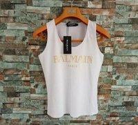 camiseta sem manga para mulheres venda por atacado-Roupas de luxo das mulheres designer de camiseta sem mangas regatas colete simples camiseta colete top modal senhora yoga esportes calças justas