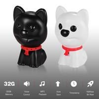 Wholesale dog mp3 for sale - Group buy Originality digital voice recorder mini cute car black box children safety mp3 mini size dog design one Key recording mp3 player