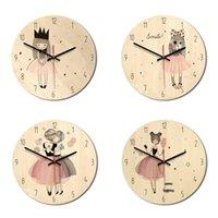 vintage universal venda por atacado-Modern Simplicity Relógio de Parede Relógio Decorativo Do Vintage Para Sala de estar Quarto Universal Redonda Escritório Grande Home Decor