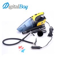Wholesale auto tire lights resale online - Multi function Car Cleaner Vacuum V Tire Inflated LED Light W Car Clean Wet Dry Dust Automobile Tool Auto Accessories