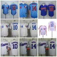 Wholesale light blue baseball jerseys for sale - Group buy Cheap EXPOSs jerseys Dawson BRADY ROSE White Grey Dark Light Blue Baseball Jerseys Shirt Stitched Top Quality