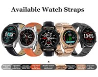 Wholesale ecg watches resale online - DT99 Smart Watch IP68 Waterproof Round HD Screen ECG Detection Changeable Dials Smartwatch Fitness Tracker Men