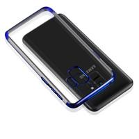 samsung s6 прозрачный мобильный кейс оптовых-Samsung S8 S9 Clear ТПУ чехол для мобильного телефона Прозрачная крышка для Samsung Galaxy S6 S6 Edge S8 S9 Plus NOTE8 J2 J5 J7 премьер телефон крышка