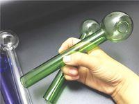 ingrosso tubi di palle-Grande dimensione Grande vetro Pyrex Bruciatore a gas Tubo da 20 cm lunghezza 50mm palla di vetro Tubo di olio Tubo Tubo di vetro per unghie all'ingrosso