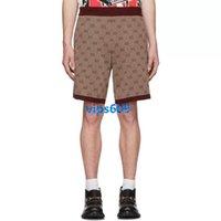 calção venda por atacado-High end mulheres meninas calções mini calções carta Jacquard impressão das mulheres calções Casuais Em Linha Reta curto 1 cores S M L