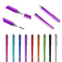ingrosso tablet di superficie pro-Trasparente Sensing Testa Universale Capacitive Stylus Pen Metal Sucker per tablet iPad Tab Cellulare Phone Microsoft Surface RT Pro