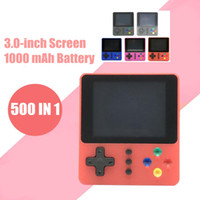 Wholesale portable tv for video games resale online - K5 Retro TV Video Game Console Portable Mini Handheld Pockets Games Box in Arcade FC SUP NES Games Player for Children Xmas Toys