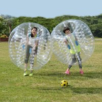 Wholesale bumper football inflatable resale online - Inflatable Best Price m m m PVC zorb ball inflatable bumper ball bubble football bubble soccer