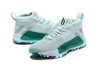 leyenda de la nave al por mayor-Dame 5 Mint Legend Marine zapatos ventas Damian Lillard Baloncesto tienda de zapatos envío gratis Con la caja US7-US12