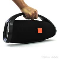 ingrosso giocatore di boombox-Wrdlosy Super Boombox maniglia altoparlante portatile Bluetooth 25W altoparlante 6000mAh colonna esterna con altoparlanti del giocatore di musica TWS Boombox da DHL