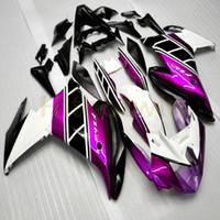 ingrosso yamaha fz6r abs-Botls + Custom piink Articolo di moto in ABS per la carena YAMAHA FZ6R 2009 2010 FZ6