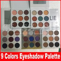 Wholesale pink purple eyeshadow palette for sale - Group buy Fall Collection eyeshadow eye shadow Pressed Powder Eye shadow Palette Bronze Burgundy holiday purple blue honey eye Makeup Colors