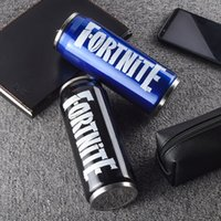 Wholesale Boutique Cups Fortnite straw Coke cans accompanying coffee cup stainless steel size cm color