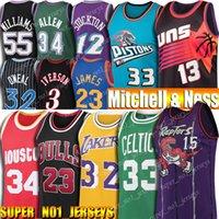 23 basketbol toptan satış-Gerileme 23 Michael Jersey Allen 3 Iverson Larry 33 Kuş Steve Nash 13 32 Johnson Grant Shaquille Tepesi Oneal Stockton Basketbol Formalar