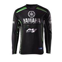 siyah motosiklet yarış giysisi toptan satış-Siyah Yarış Takım Elbise Bisiklet Forması Gömlek Uzun Kollu Yaz Off-Road Motosiklet Suit Off-Road Gömlek Ceket Açık Havada Kazak spor