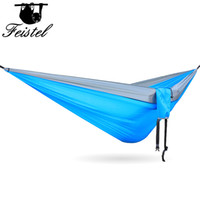 Wholesale hammock sizes for sale - Group buy Camping Ramak hammock Outdoor Bed hamak gaming chair outdoor furniture T Nylon Parachute cloth cm Big Size