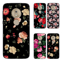 Wholesale motorola g phone for sale – best Floral Phone Cases Soft Back Case Cover Shell For Motorola Moto G8 G Power E7 One Pro Funda Hot selling
