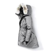 ingrosso velluto donna-Pelliccia di lupo inverno delle donne giacca a vento dei vestiti delle donne 2019 dal design di lusso Giacche Down Jacket Parka Bomber Cappotti Doudoune Femme E40