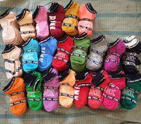 chaussettes de baseball rose achat en gros de-Rose Noir Gris Garçons Filles Chaussettes De Football Pom-Pom girls Basketball Extérieur Sports Adulte Chaussettes À La Cheville Taille Libre Multicolores