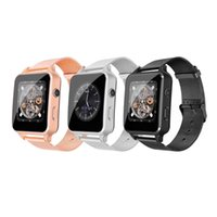 ingrosso monitorare le telecamere-orologio intelligente X7 con SIM CARD CAMERA contapassi sonno del monitor X8 smartwatches Bluetooth per i telefoni Android PK IWO