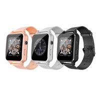 schrittzähler groihandel-X7 intelligente Uhr mit SIM-Karte Kamera Pedometer Schlafmonitor X8 bluetooth smartwatches für Android-Handys PK IWO
