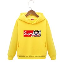 Wholesale baby show clothing online - Clothes Parenting Pretend Children Belt Caps Customized Show Print Logo colors cartoon boys hoodie baby clothing dog kids