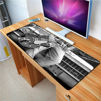 Wholesale computer mouse gifts resale online - FFFAS X40cm Music Guitar Mouse pad Style of Art Notebook computer PC Keyboard and mouse Mat Spread all over the world gift
