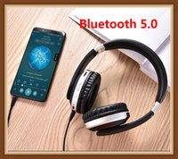 fone de ouvido sem fio para ipad venda por atacado-MH7 Auscultadores sem fios Bluetooth Headset dobrável Stereo Gaming fones de ouvido com microfone TF Suporte para iPad Celular