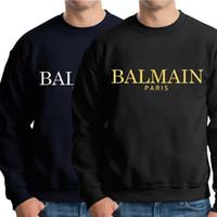 camisolas com colarinho venda por atacado-Novos homens hoodies moletons gola redonda moletom com capuz 100% algodão preto marinha mens agasalho hip hop moda hoodies