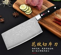 Wholesale butcher knifes resale online - Kitchen knife Cutlery Chef s Knives Stainless Steel Butcher Vegetable Meat Kitchenware Cookware