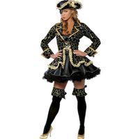 festa jogos femininos sexy venda por atacado-América América Ms Sexy Caribe pirata feminina Vestuário das mulheres do Dia Das Bruxas vestuário Jogo uniforme vestidos de cosplay mulher festa noite