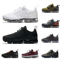 Wholesale running shoes for men online - New Run UTILITY running shoes for men triple white black REFLECTIVE Medium Olive Burgundy Crush designer mens trainers sports sneakers