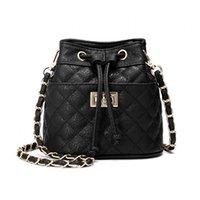 Wholesale mini cell phones for sale - 2019 Designer Handbags Chains Plaid Women Fashion Leisure Soft Bucket Shoulder Bag Mini Crossbody Bags Luxury Wallet
