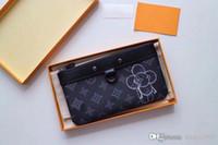 cep telefonu kutusu tutacağı toptan satış-Pochette Apollo unisex Seri Numarası cüzdan Monogrram Mürekkep cep telefonu kılıfı Kart tutucu cep sikke Çanta cep telefonu çantası orijinal kutusu M62897